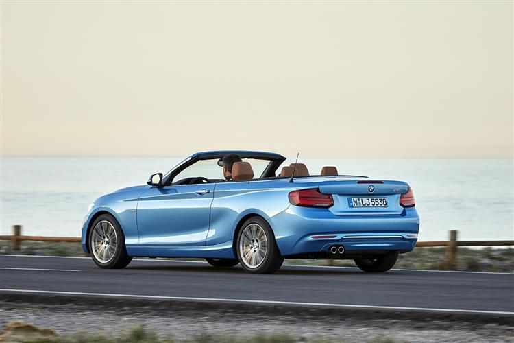 BMW 2 Series 218 Convertible 2.0 d 150PS SE 2Dr Auto [Start Stop]