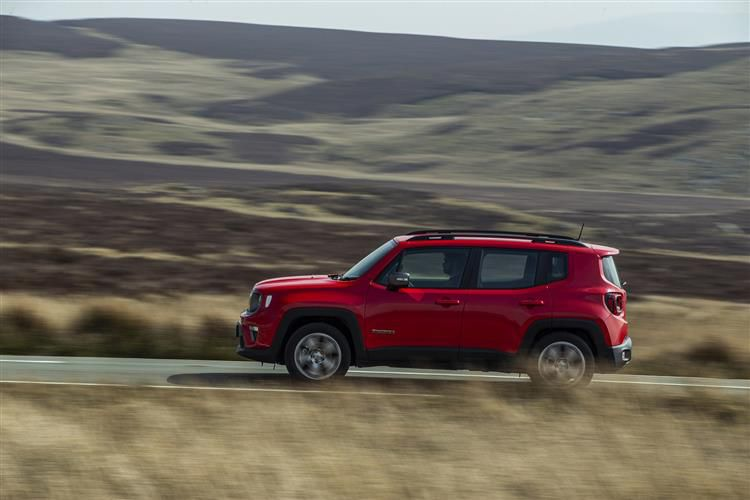 Jeep Renegade SUV 1.0 GSE T3 120PS Night Eagle 5Dr Manual [Start Stop]